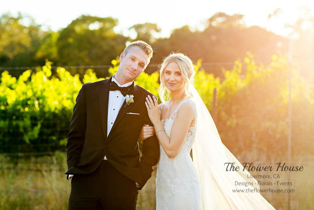 Wedding at the Wente Restaurant and Winery