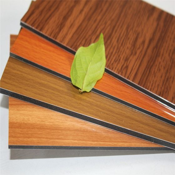 wooden color aluminum composite panel acp brand oem acceptable rh pinterest com