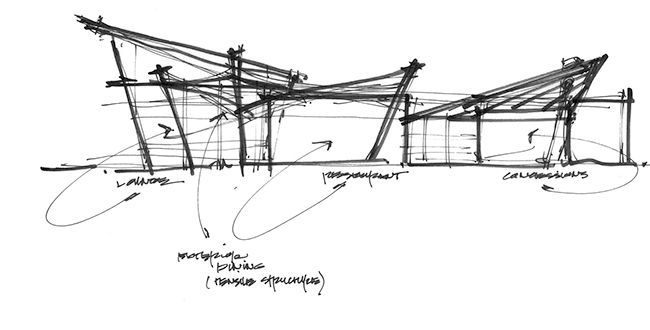 In the profession of architecture drawing is essential to for Conceptual architecture diagram