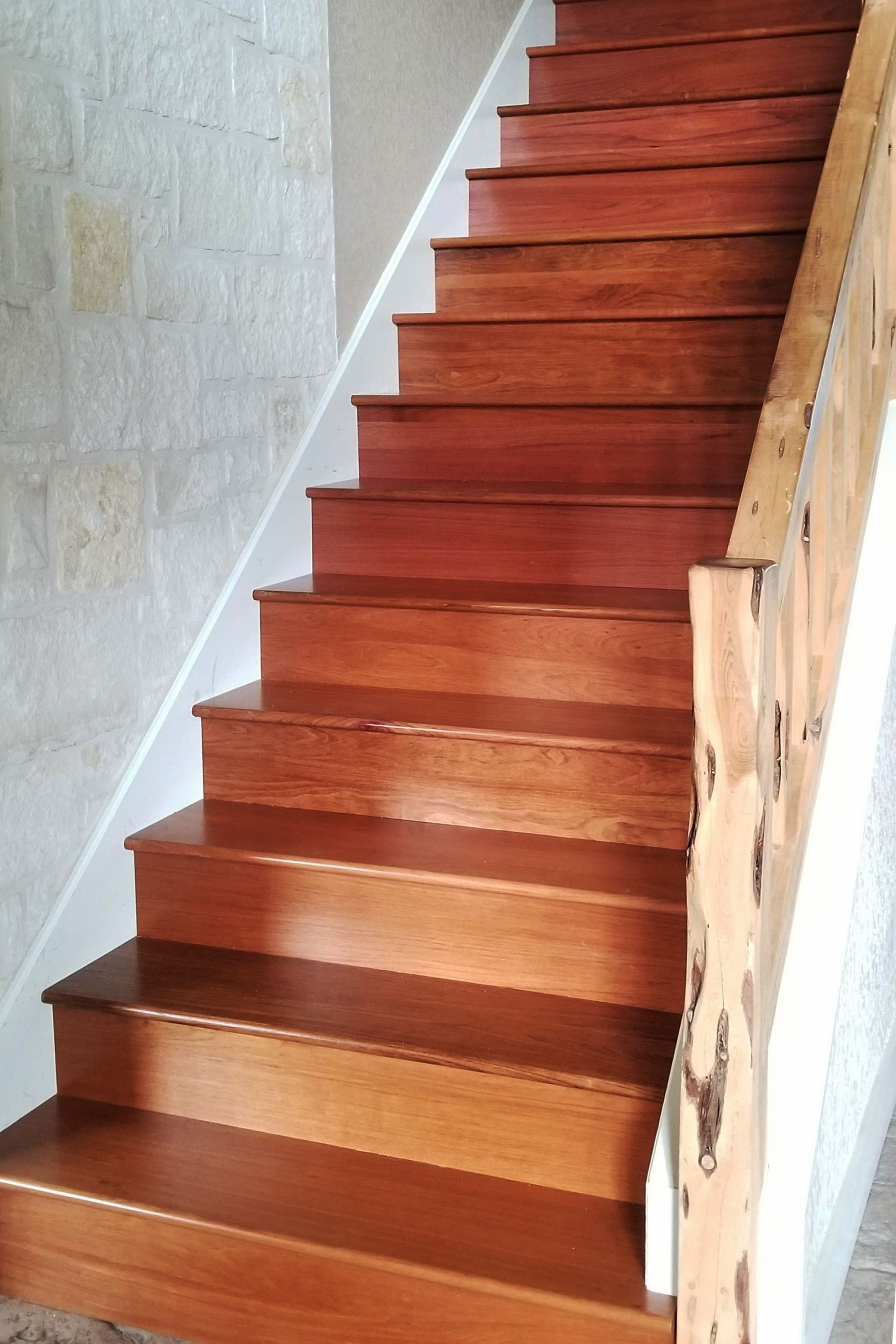 Best Brazilian Cherry Stair Tread Stairs Stair Treads 400 x 300
