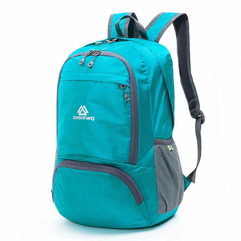 Travel Ultralight Folding Backpack Nylon Bag Camping Hiking Rucksack