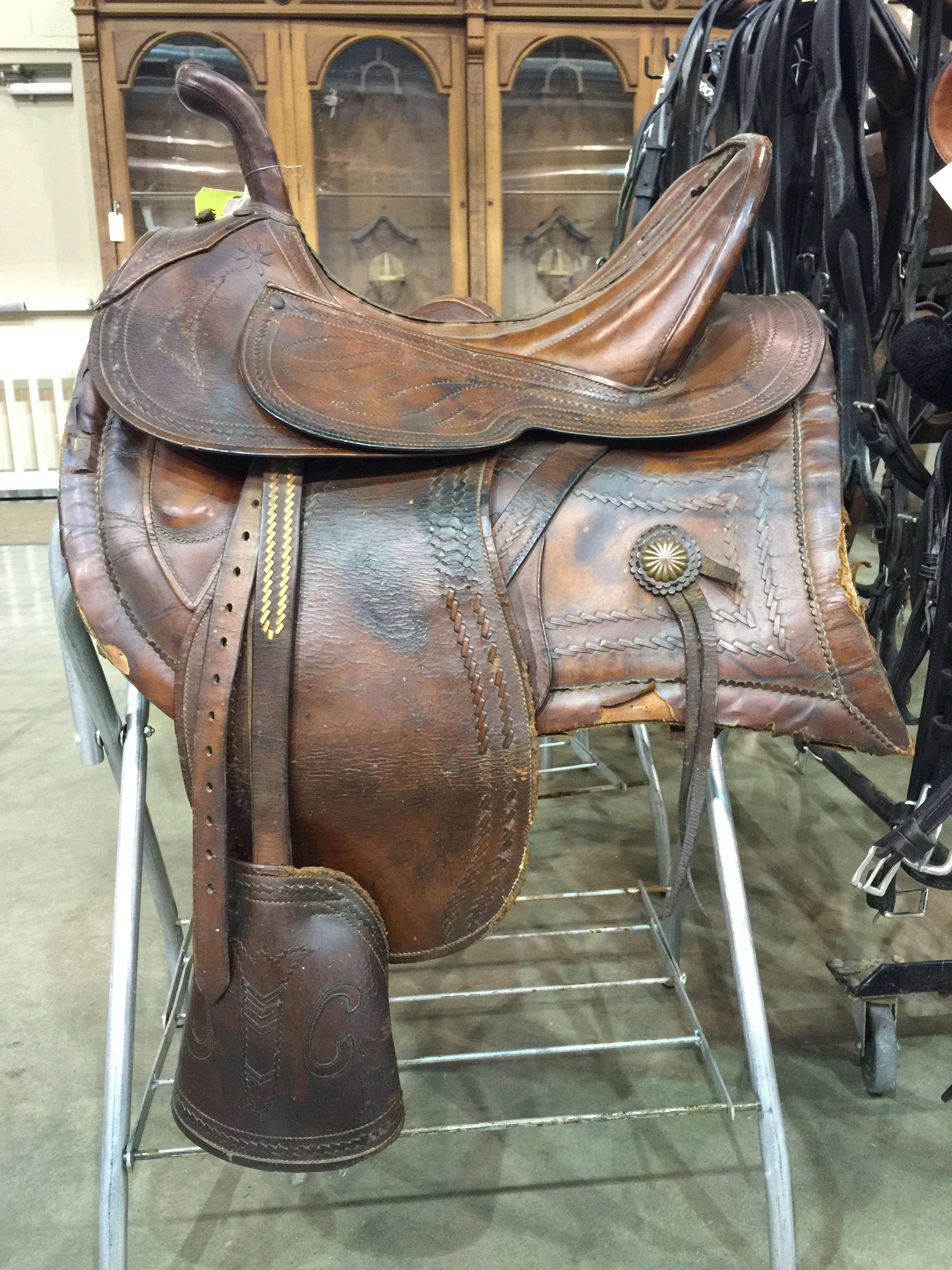 Antique German Military Saddle Saddles Leather Saddle Fitting