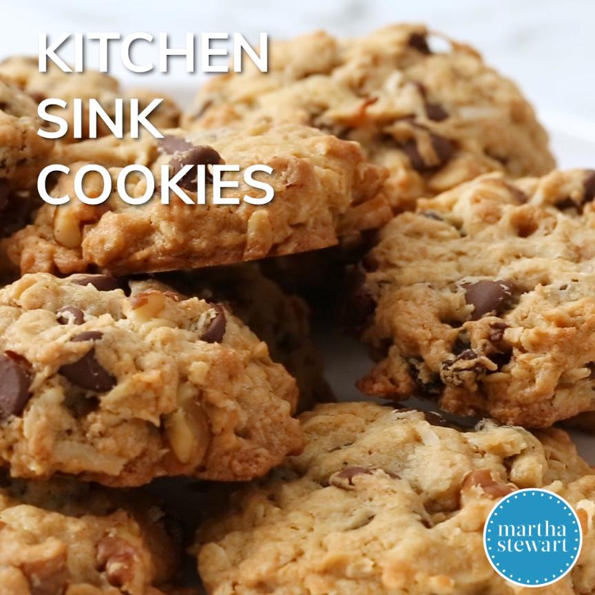 Pleasant Kitchen Sink Cookies Video Cookie Recipes Dessert Download Free Architecture Designs Lukepmadebymaigaardcom