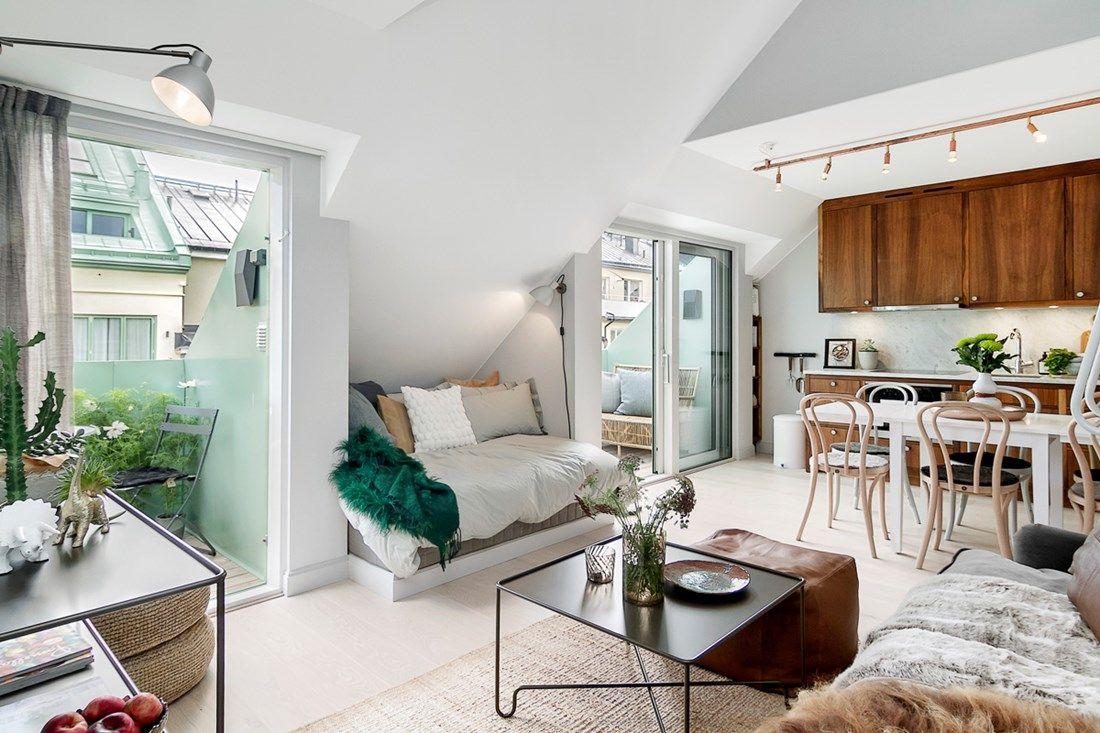 Une Petite Chambre Perchee Planete Deco Architecture Maison