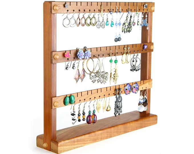 12++ Jewelry stand with earring holder viral