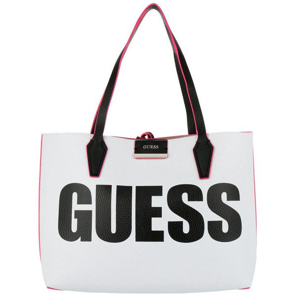 Guess Bobbi Inside Out Tote Guess Grey in rosa | fashionette