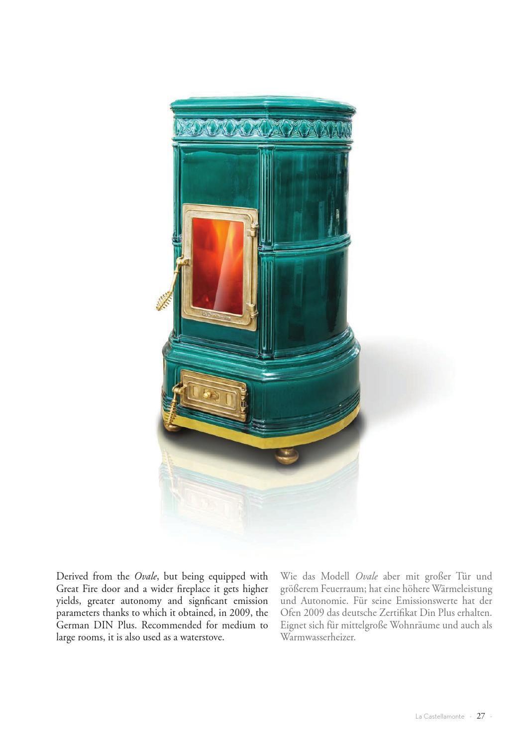 die klassischen kachelofen von castellamonte sind echte blickfanger, la castellamonte - 2013 ceramic stoves catalogue - 2013 Öfen katalog, Ideen entwickeln