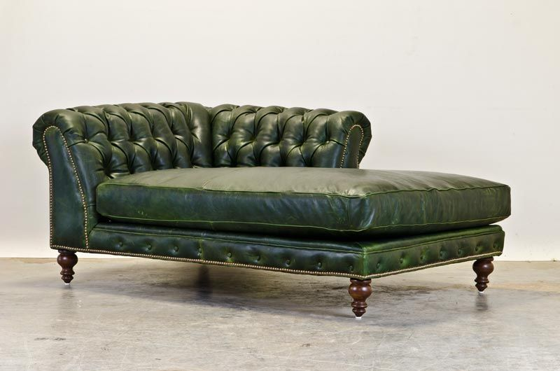 Chesterfield Chaise From The Comfortable Couch Company