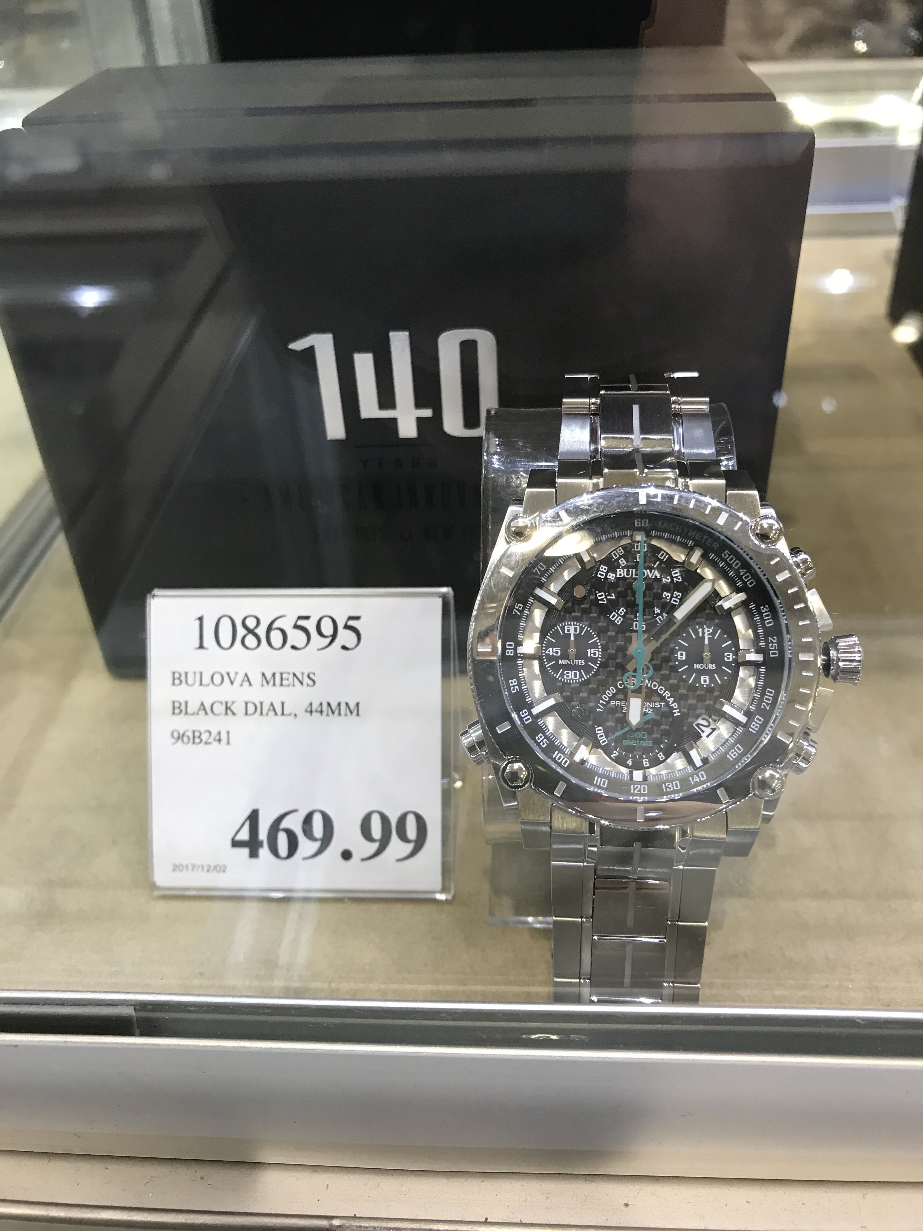 Bulova For Men Special 140th Edition In Sale At Costco Gift