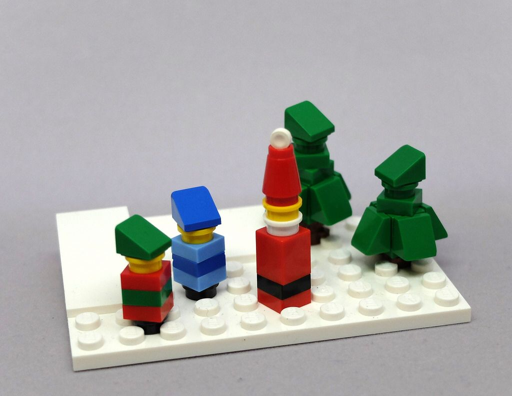 Have yourself a tiny little christmas lego holidaywinter