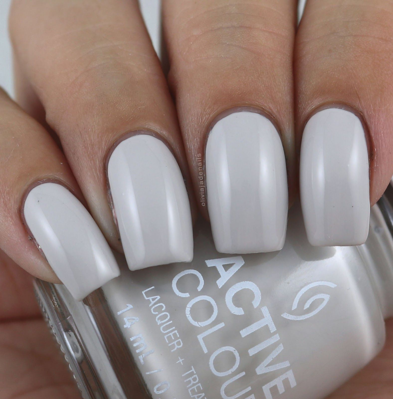 China Glaze Grey Nail Polish: China Glaze Set In Greystone (mini) Swatched By Olivia
