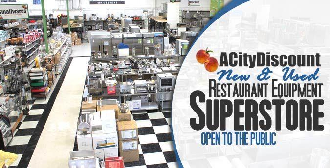 Acitydiscount Superstore Restaurant Equipment Showroom To
