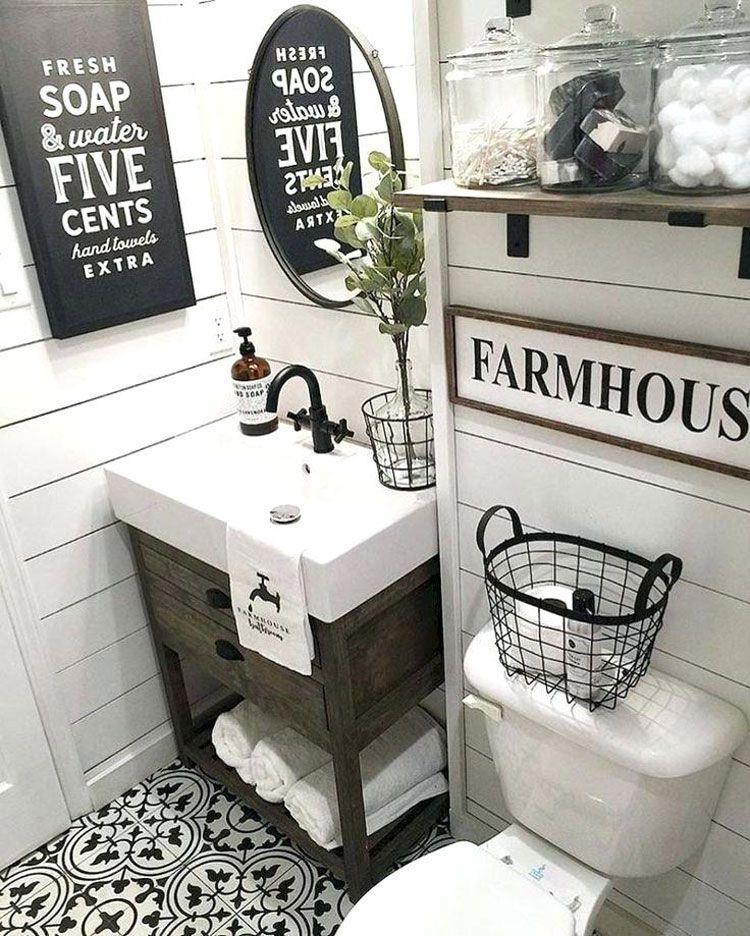 Home Ideas Review Farmhouse Bathroom Decor Bathroom Design Trendy Bathroom