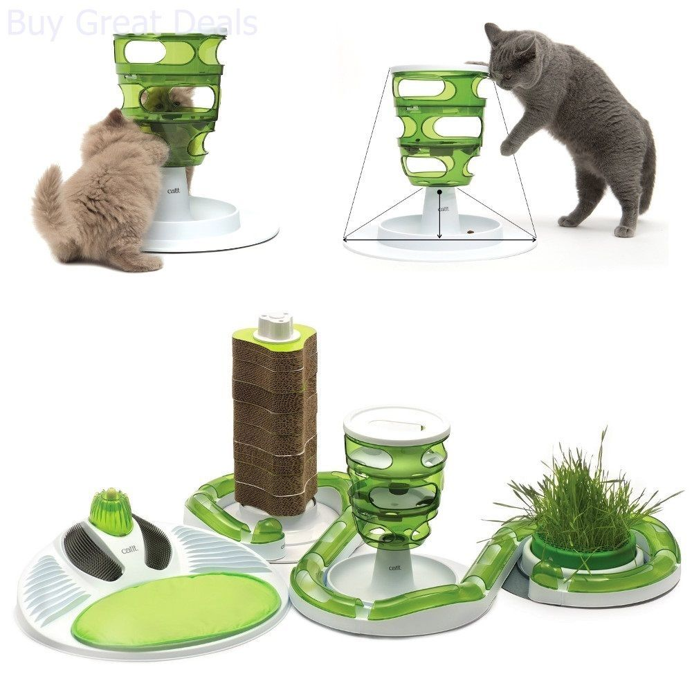 youtube watch cat stimulo puzzle feeder
