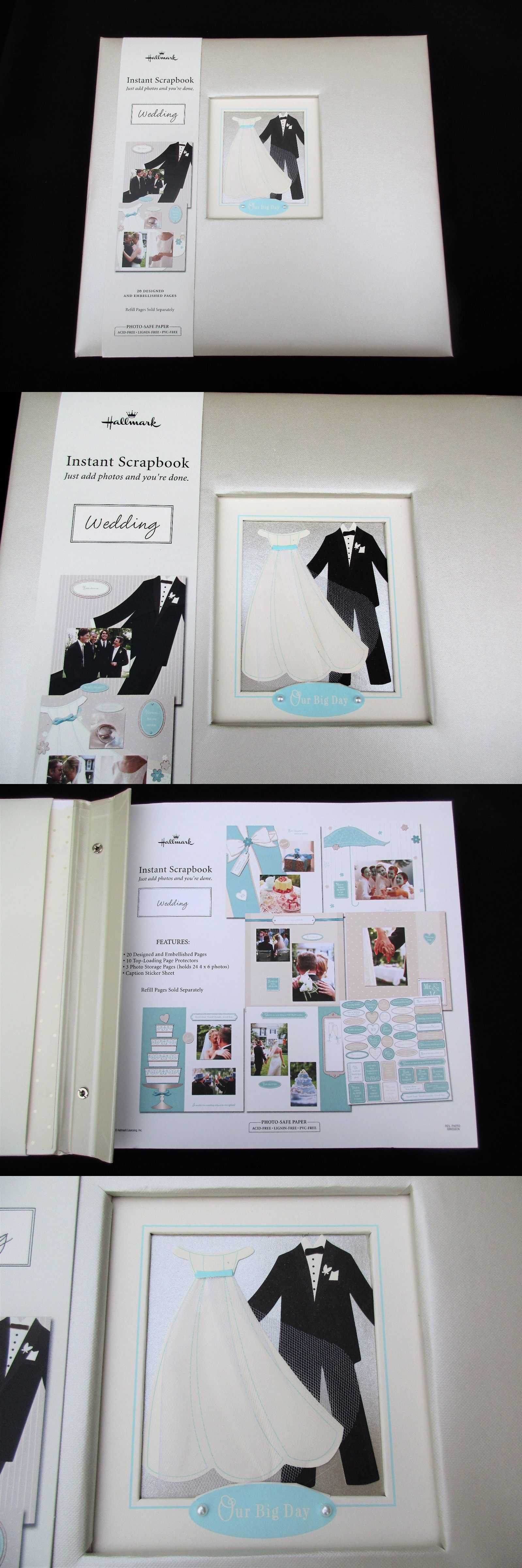 Albums And Refills 33875 New Hallmark Wedding Our Big Day 12 X 12