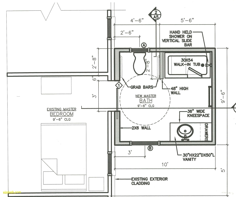 Fresh Bathroom Design Drawings