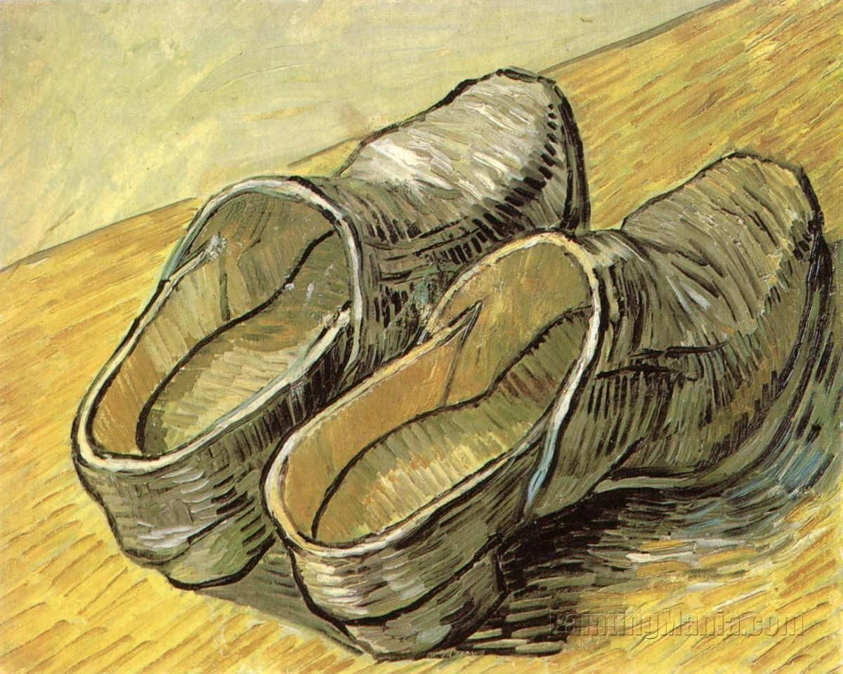 A Pair of Leather Clogs by Vincent van Gogh 1889 (these look like a shoe Marsell would produce).