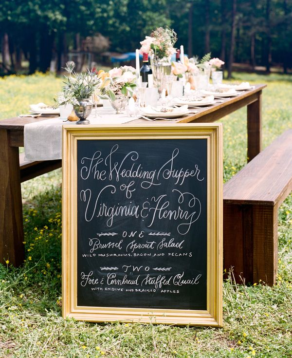 Southern Wedding Reception Food: Stephen DeVries #wedding