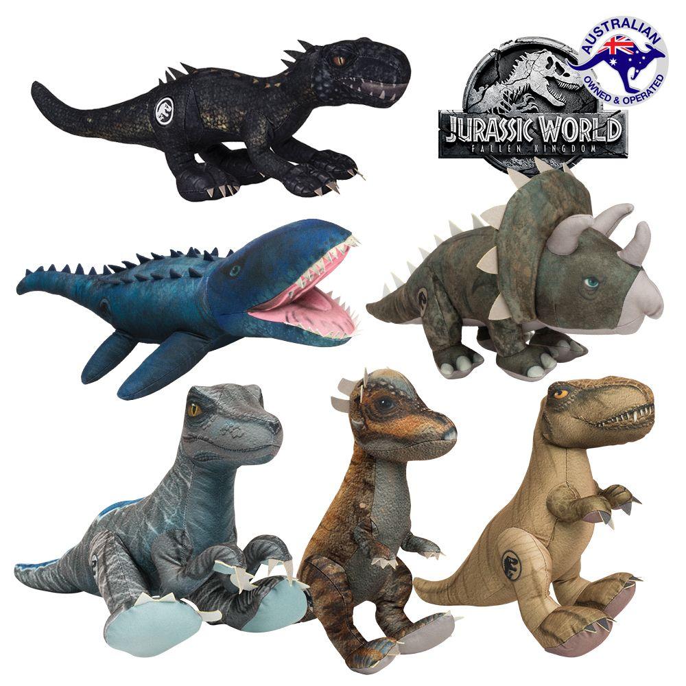 Licensed Jurassic World Toys 2 Dinosaur Plush Stuffed