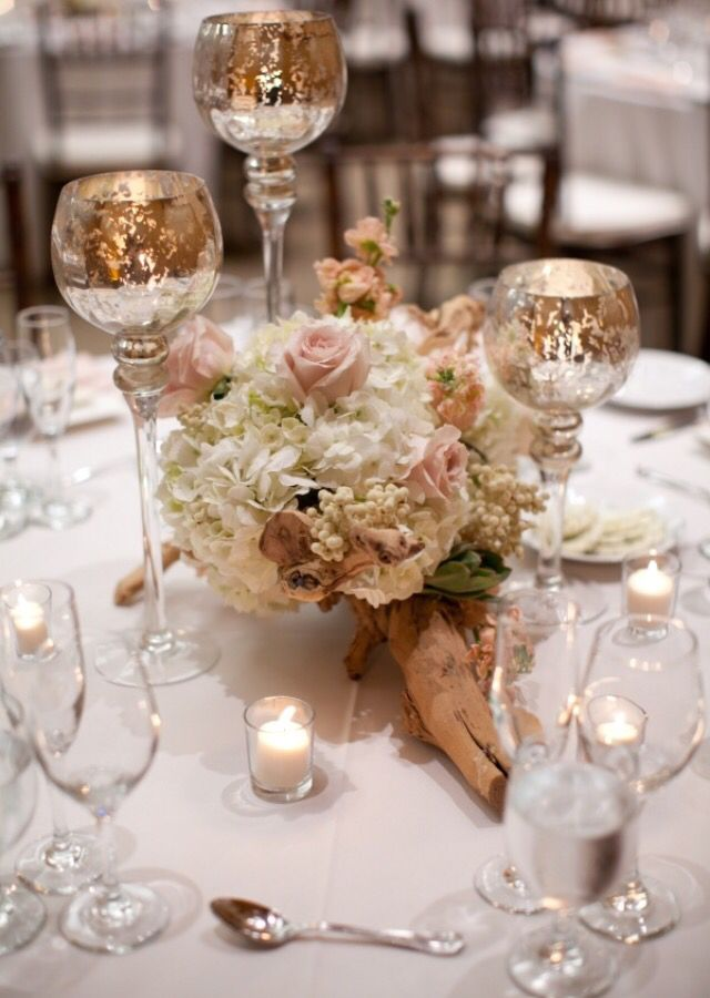 Blush Dusty Rose Pink And Rose Gold Gold Champagne Wedding