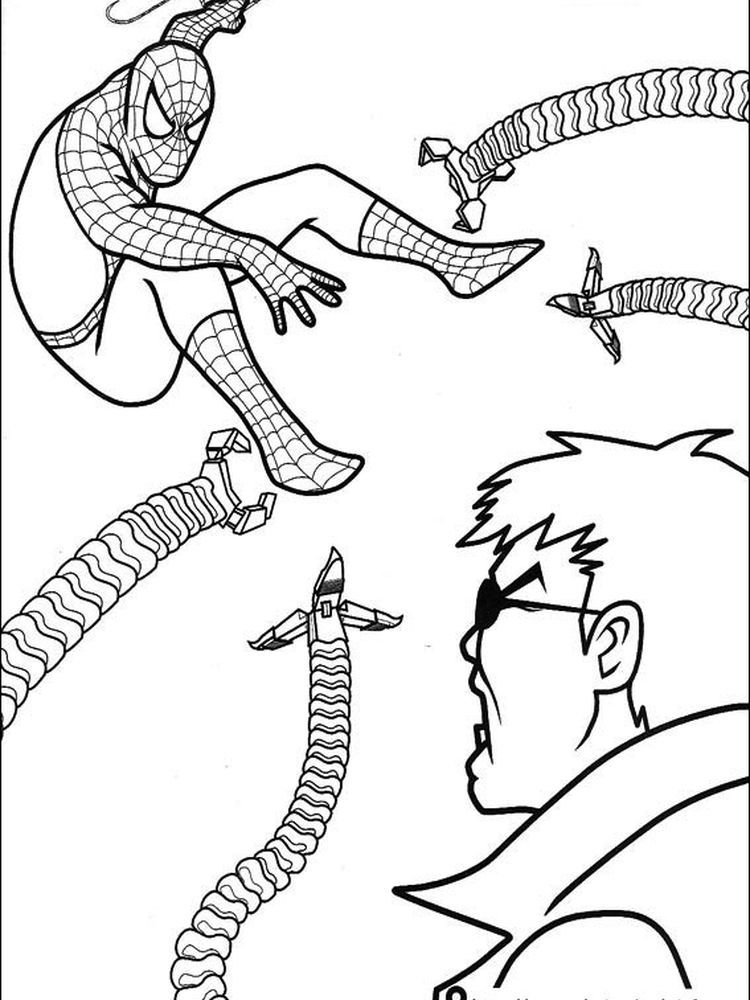 The Amazing Spider Man Coloring Pages To Print Following This Is Our Collection Of Spiderman Colorin In 2020 Avengers Coloring Pages Spiderman Coloring Coloring Pages