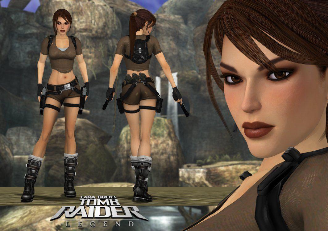 Lara croft ultra high quality nude in tomb raider underworld