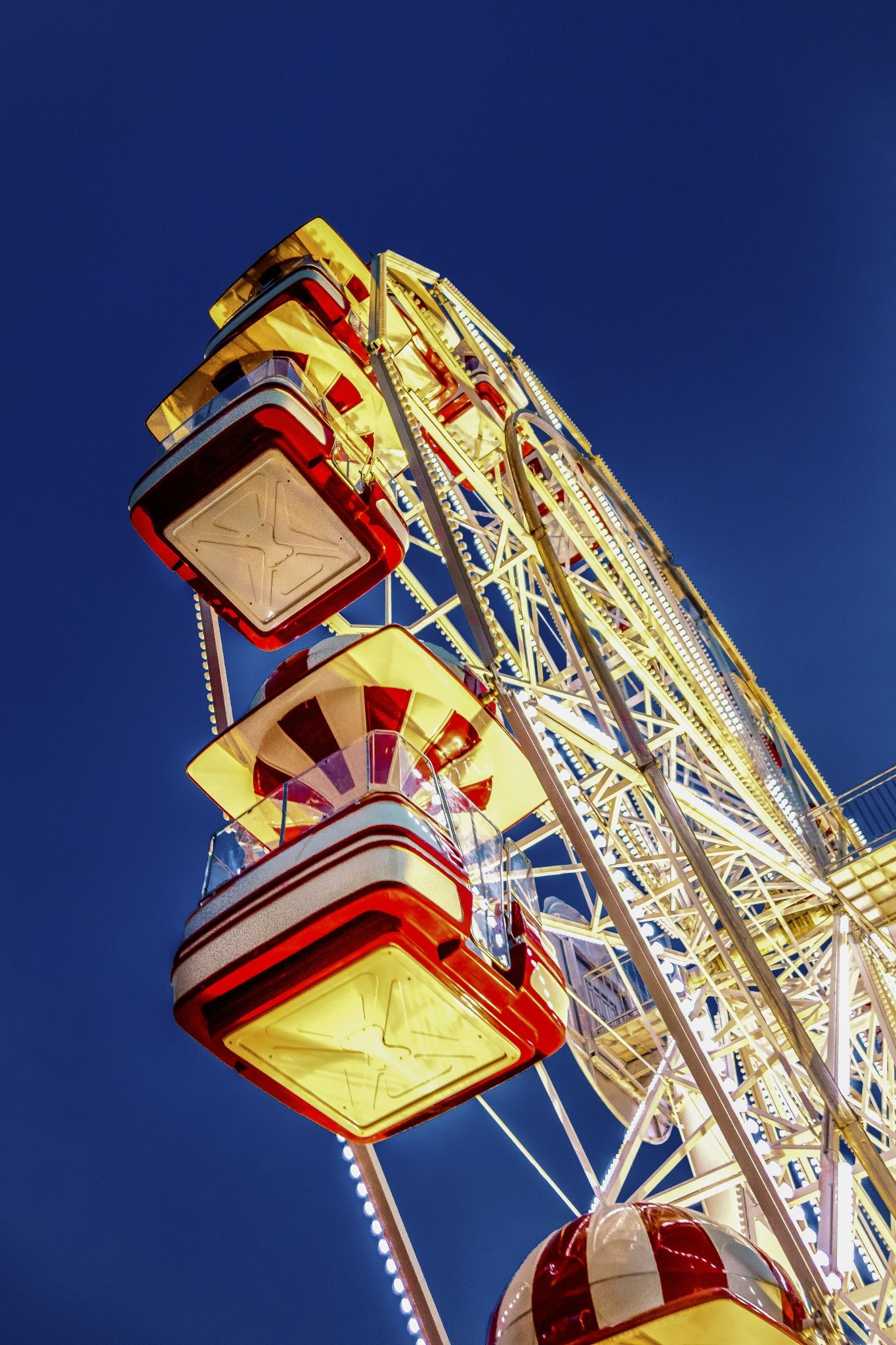 Tivoli Amusement Park Aarhus Ferris Wheel New Version By Morten Rasmussen On 500px