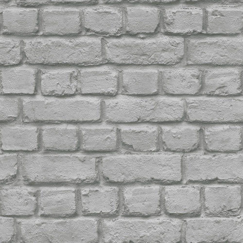 Rasch Rasch Brick Stone Wall Realistic Faux Effect
