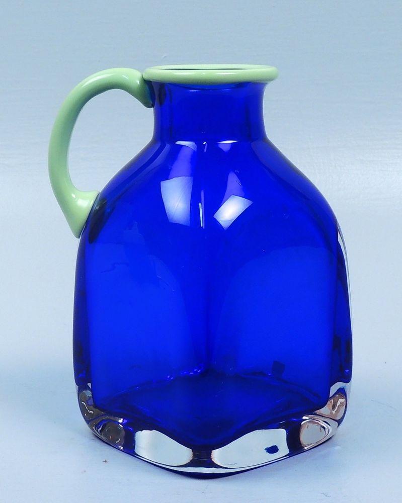 Orrefors Gallery Art Gl Ewer Vase