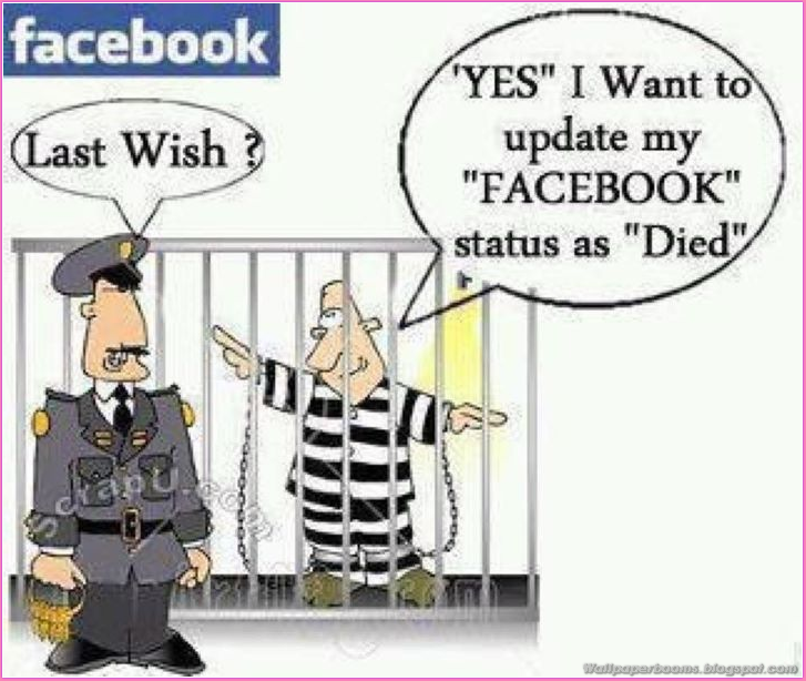 Facebook Wish Funny Wallpaper Wall Sharing