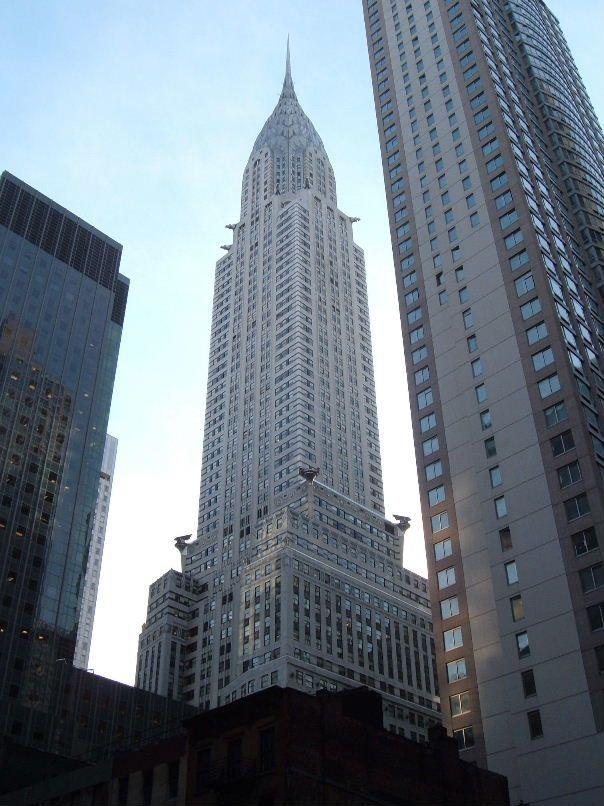 East Side Symbol Skyscrapermodels Chrysler Building New