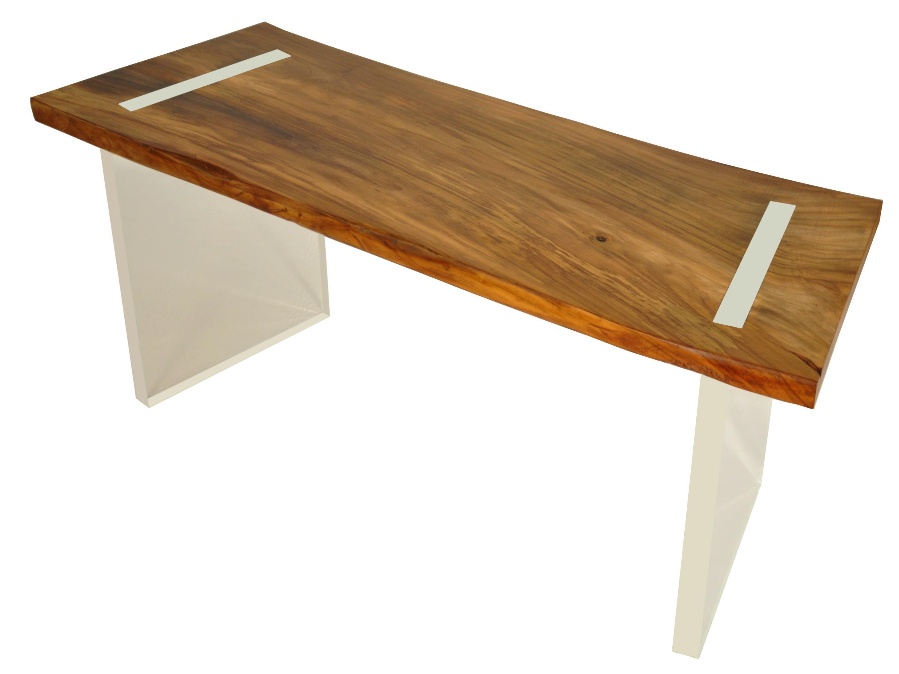 Acryl Schreibtisch Moderne Holzmobel Altholz Schreibtisch