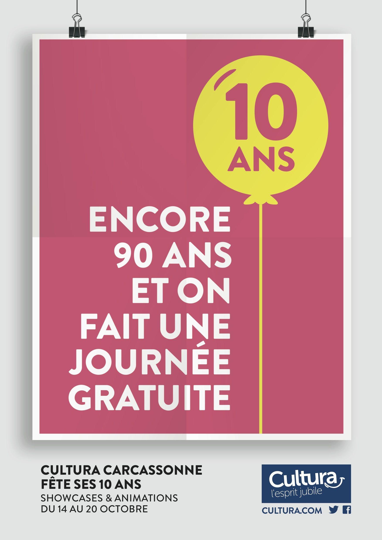 anniversaire cultura carcassonne