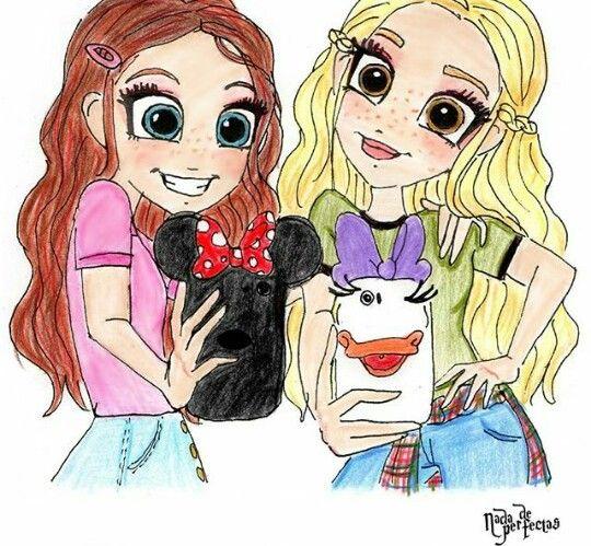 Amoooo Muito Meus Amigos Eternos Dibujos De Pinterest