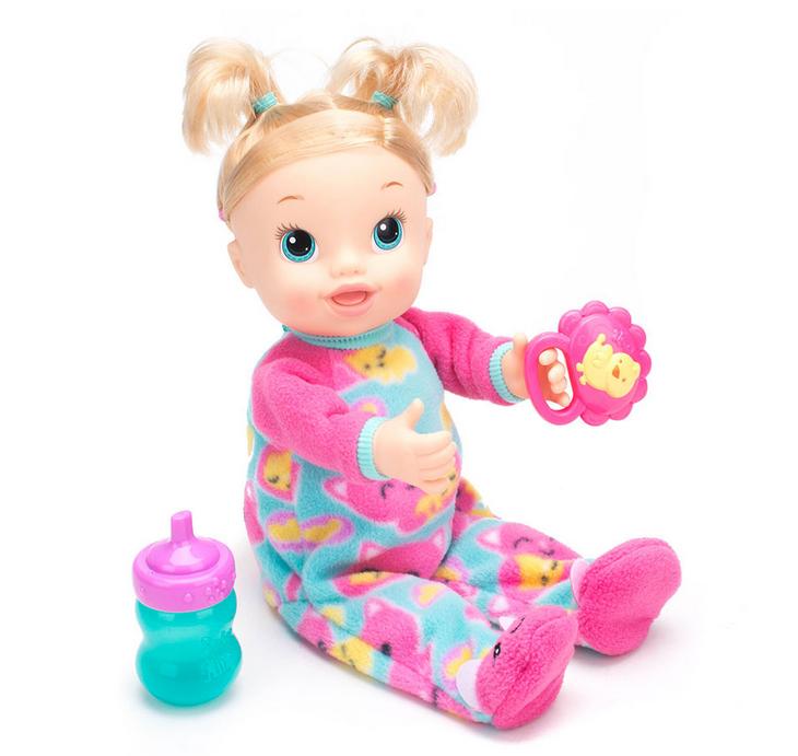 Baby Alive Tickles N Cuddles Baby Blonde Doll Baby Alive Baby Alive Dolls Baby Dolls