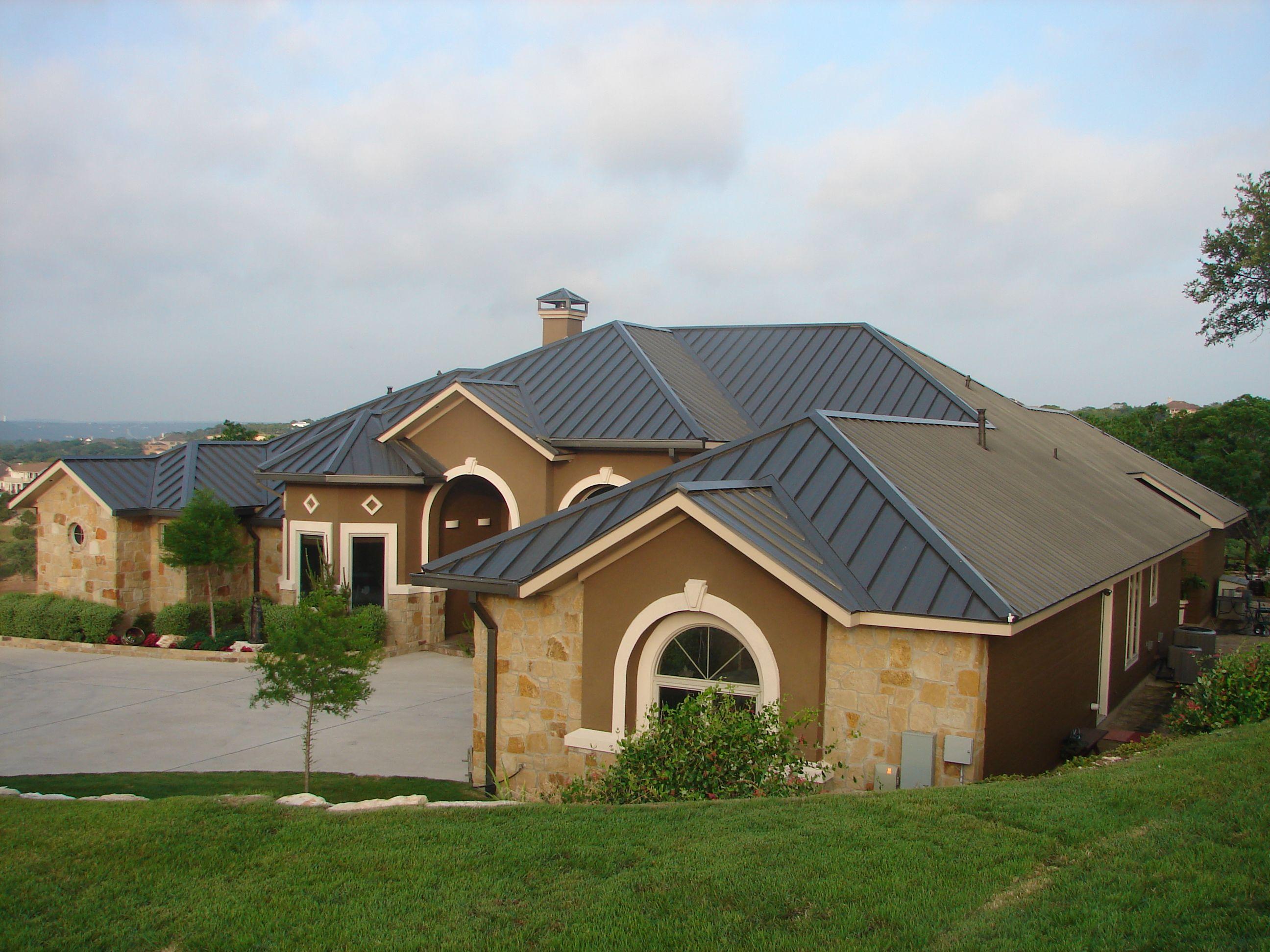 Drexel Metals Vintage Metal Roof Gable Roof Design