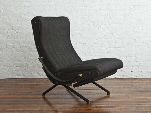Sedie Tecno ~ Rare p lounge chair by osvaldo borsani for tecno italy
