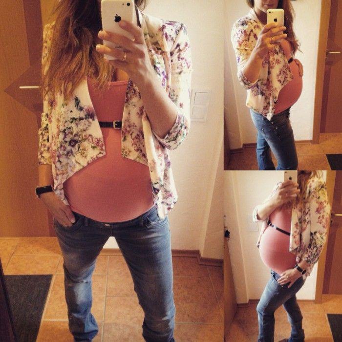 schwangerschaftsmode outfit 9ter monat pregnancystyle week 36 maternity pinterest. Black Bedroom Furniture Sets. Home Design Ideas