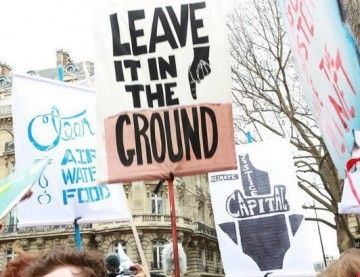Image result for leave it in the ground