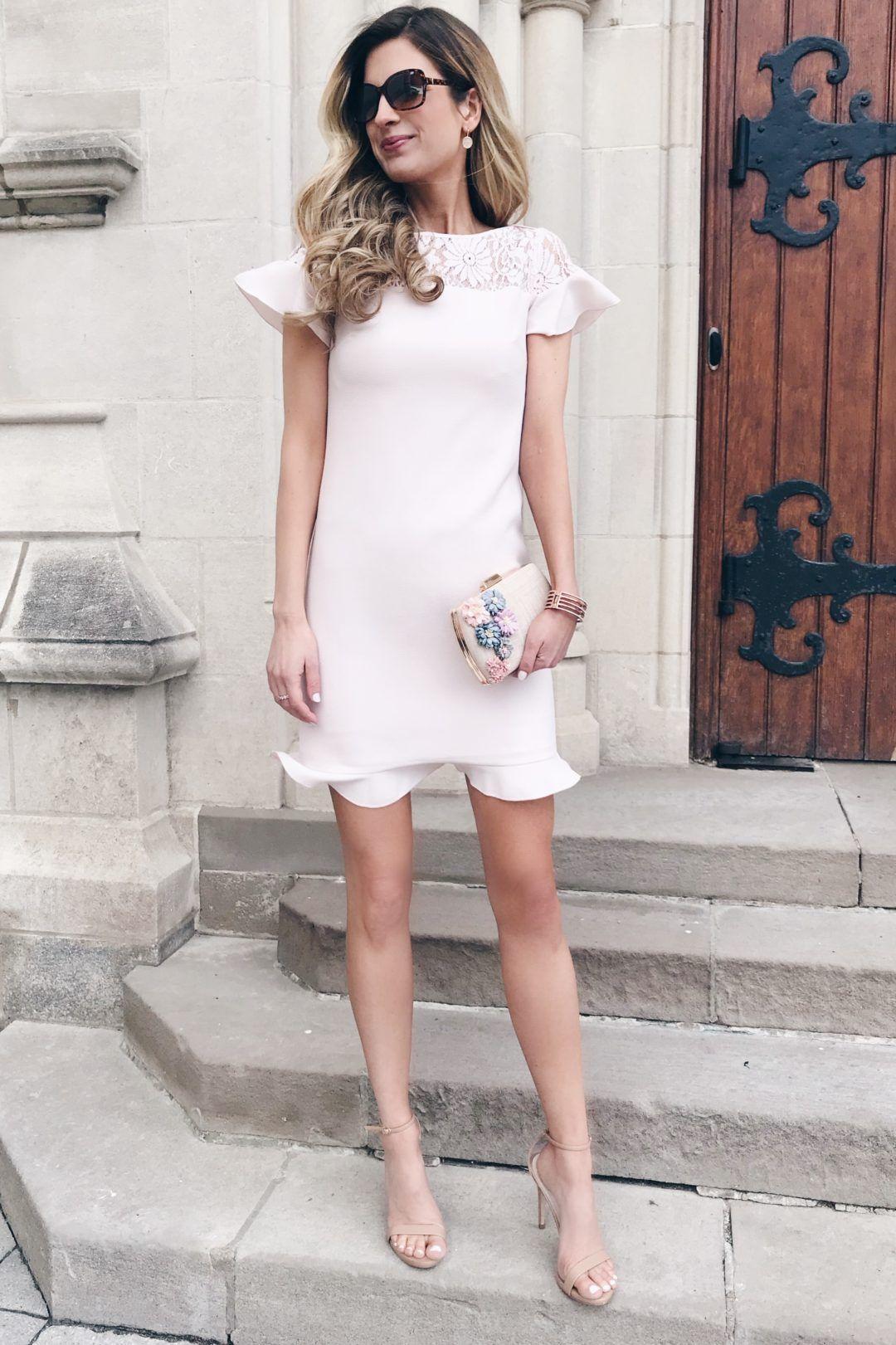 Spring Wedding Guest Dresses 2018 Favorites From The Friends And Family Sale Spring Wedding Guest Dress Fall Wedding Guest Dress White Wedding Guest Dresses [ 1621 x 1080 Pixel ]