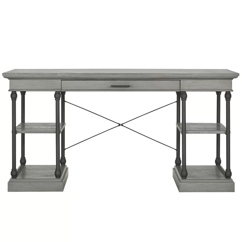 Greyleigh Poynor Solid Wood Desk & Reviews   Wayfair ...