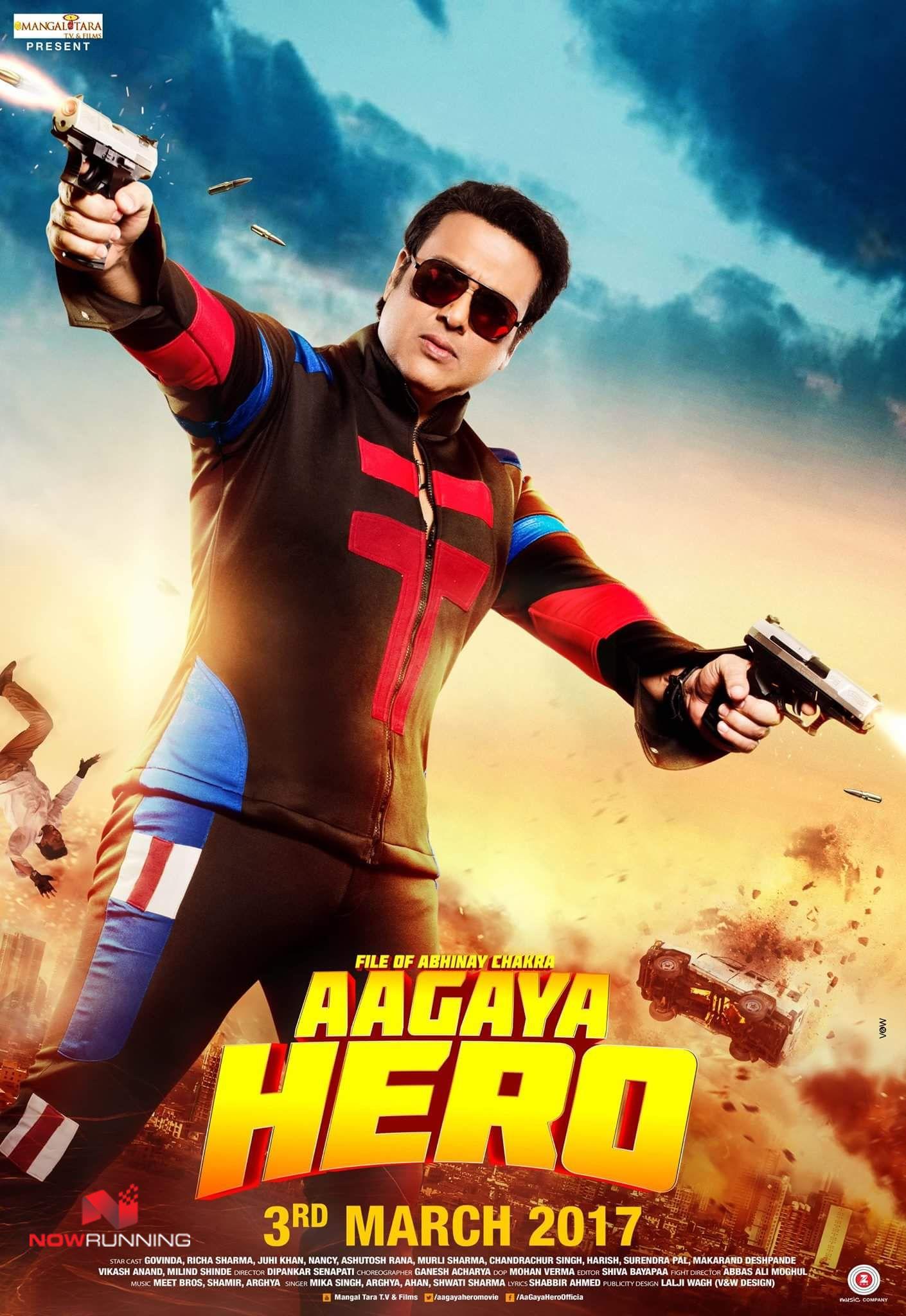 Govinda In Aagaya Hero First Look Poster Nowrunning Bollywood In