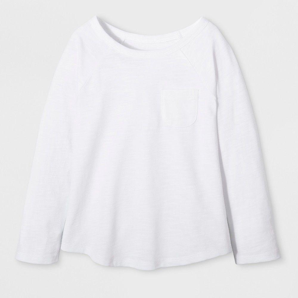 6834321e2 Toddler Girls  Long Sleeve T-Shirt - Cat   Jack