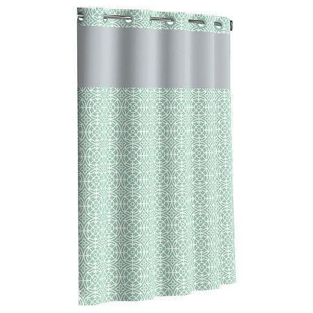 Flex On By Hookless Medallion Shower Curtains Target