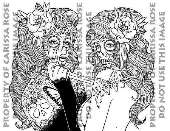 Digital Download Print Your Own Coloring Book By Neverdieart Dia
