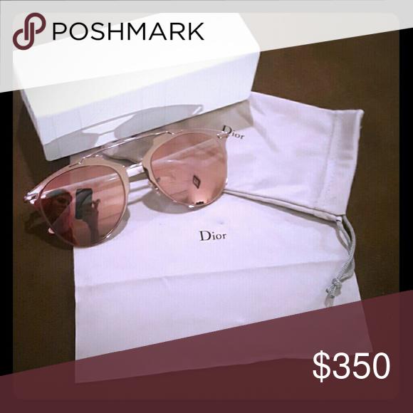 c021f64aae Christian Dior Reflected sunglasses (Sold on mercari app)Light pink lenses