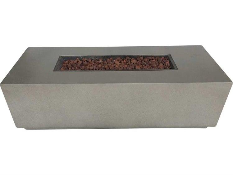 Teva Grc Torch 60 X 24 Rectangular Concrete Fire Pit Table 200 Grcrc Fire Pit Table Fire Pit Materials Concrete Fire Pits