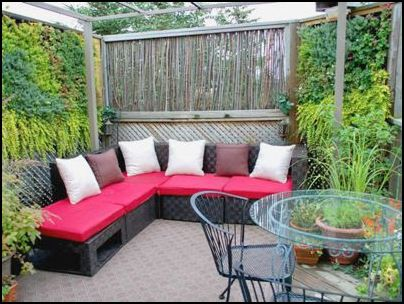 Ideas para decorar patios peque os interiores jardines for Decoracion para patios pequenos