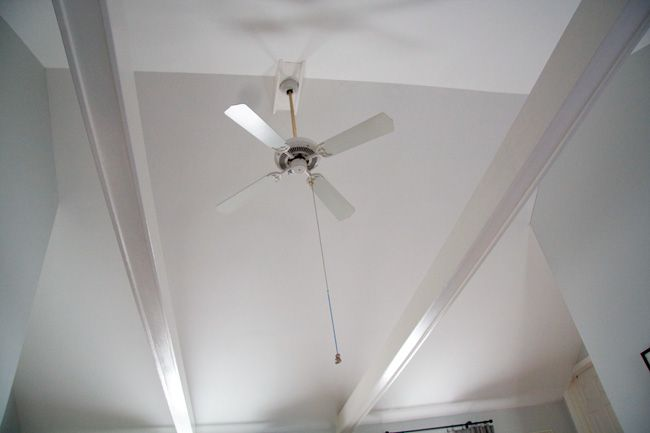 Ceiling Fan On Vaulted Ceiling Photo 1 Ceiling Fan Ceiling Design Ceiling