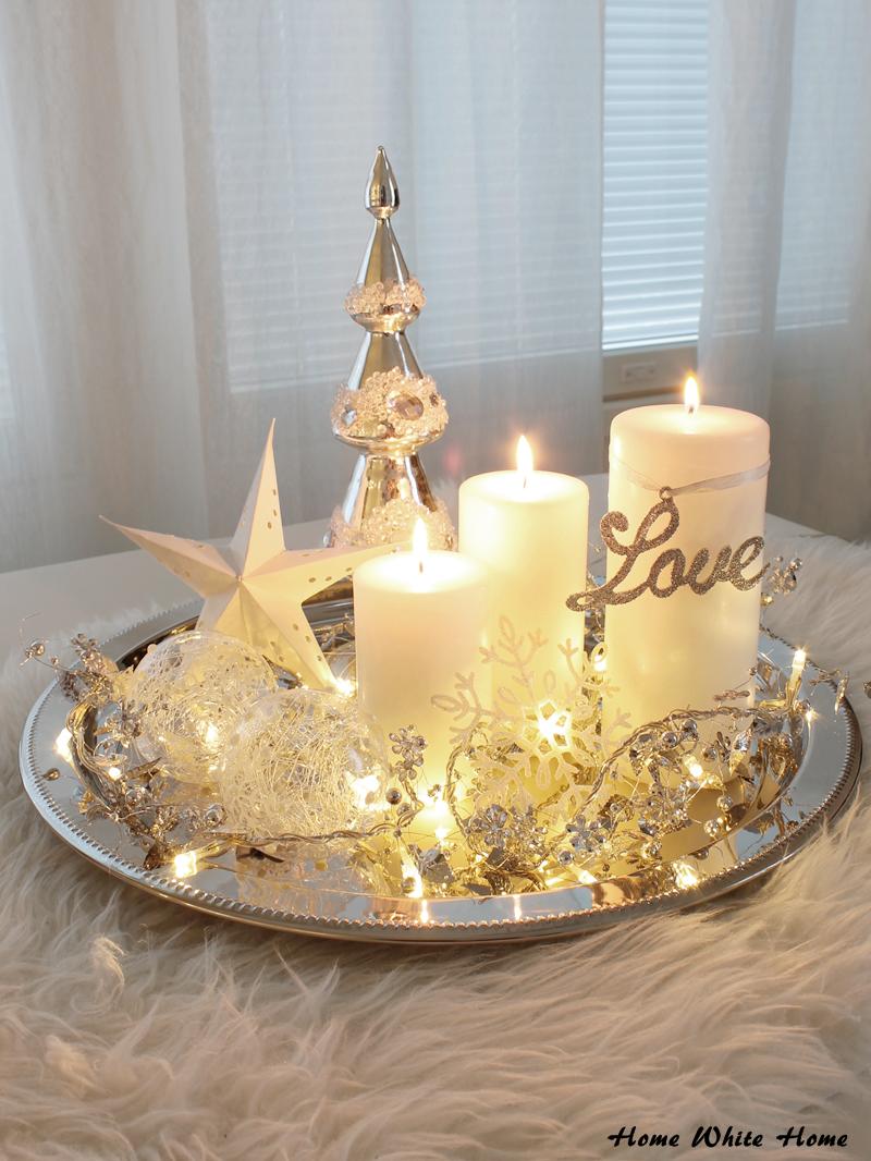 Eräänä harmaana päivänä innostuin taas pikaisesti väsäämään kynttiläasetelman. Yhden asetelman teille jo esittelinkin joulukuun al...